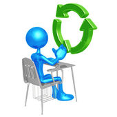 Recycling Education — Stock Photo