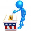 Stock Photo: Election Voting