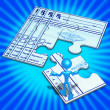 Medical Concept Puzzle — Stock Photo #12299096