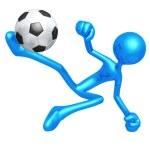 Soccer Football — Stock Photo #12299421