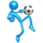 Soccer Football — Stock Photo #12299456