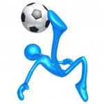 Soccer Football — Stock Photo #12299578