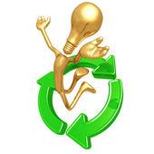 Recycling Idea Innovation — Stock Photo