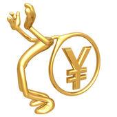 Heavy Yen Thoughts — Stock Photo
