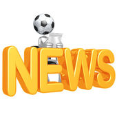 Soccer Football News — Foto de Stock