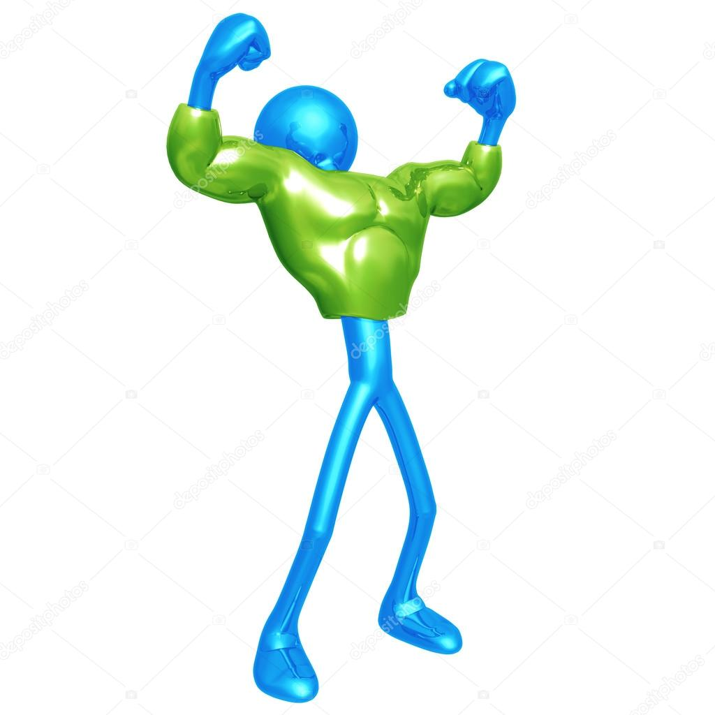 Green Muscle Suit — Stock Photo #12298548