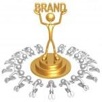 Brand Worship — Stock Photo