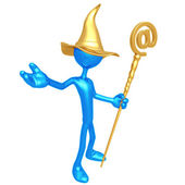Email Wizard — Stock Photo