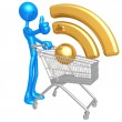 RSS Shopping Cart — Stock Photo #12326632