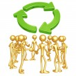 Stock Photo: Recycling Forum