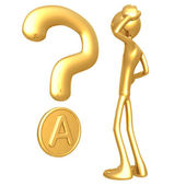 Amero Question — Stock Photo