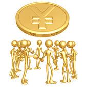 Yen Forum — Stock Photo