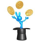 Dolar abrakadabra — Zdjęcie stockowe