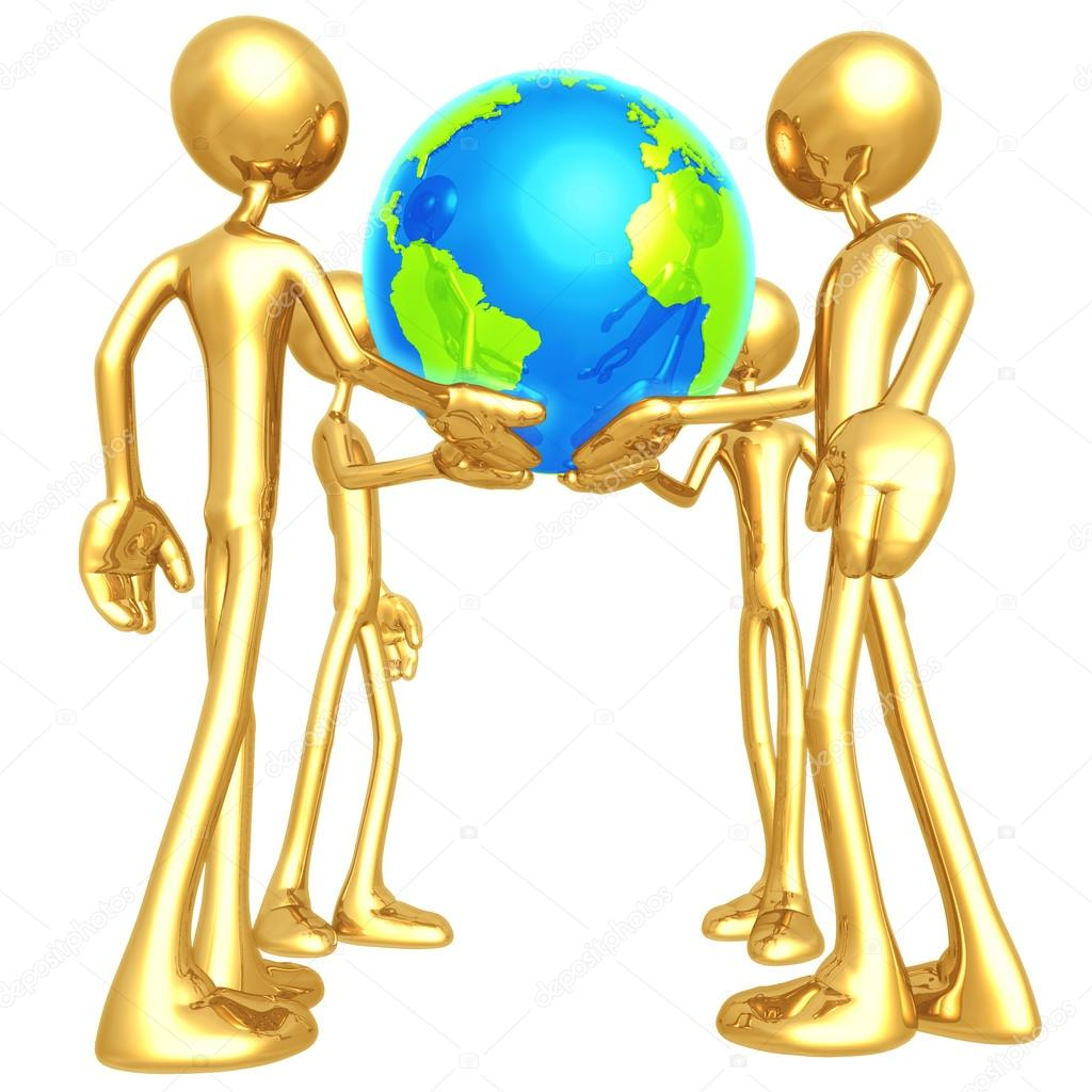 World In Our Hands — Stock Photo #12327061
