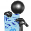 Stock Photo: Medical Prescription