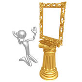 Art Frame Idol — Stock Photo
