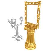 Art Frame Idol — Stock Photo