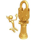 Lock Idol — Stock Photo