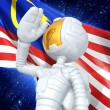 Gold Guy Astronaut — Stock Photo #12351422