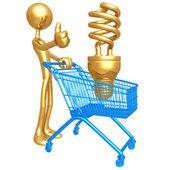 Shopping Cart Idea — Stock Photo
