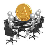 Amero Meeting — Stock Photo