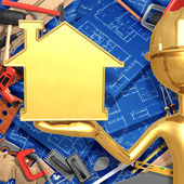 Mejoras para el hogar — Foto de Stock