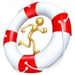 Lifebuoy Runner — Stock Photo #12370222