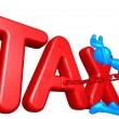 Tax Concept — Stock Photo #12376364