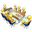 Money Meeting - Foto de Stock