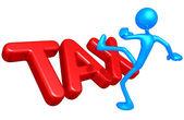 Vergi kavramı — Stok fotoğraf