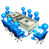 Money Meeting — Stock Photo