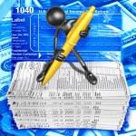 Taxes Concept — Stock Photo