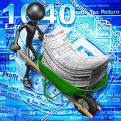 концепция налоги — Стоковое фото