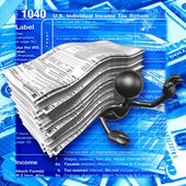 Belasting vormen — Stockfoto