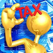 Podatki — Zdjęcie stockowe