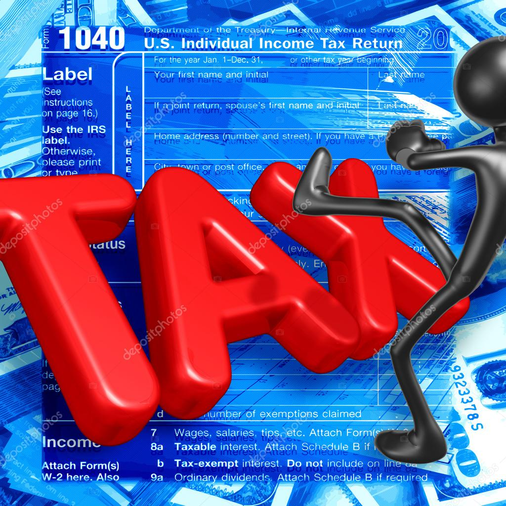 Taxes. — Stock Photo #12384728