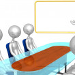 Presentation Meeting — Stock Photo