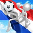 Soccer Football - Foto Stock