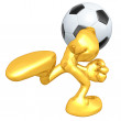 Mini O.G. Soccer Football — Stock Photo