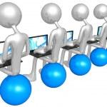 Networking — Stock Photo