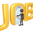 Stock Photo: Jobs Door