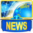 Royalty-Free Stock Photo: World News