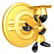 Mini O.G. Graduate With Gold Coin - Stock Photo