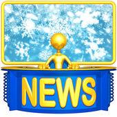 Weather Report News — Stock Photo