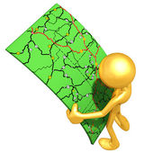 Patrząc na mapy drogowe — Zdjęcie stockowe