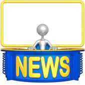 Haber masası — Stok fotoğraf