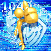 Impuestos — Foto de Stock