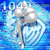 税 — 图库照片