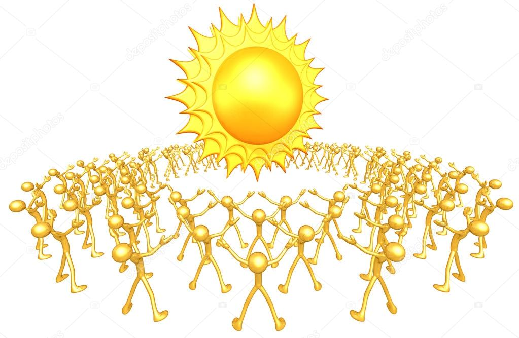 Community sun — Stock Photo #12410267