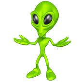 Mini Alien — Stock Photo